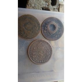 Moedas 40 Reis Com Carimbo 1827 B E 1832 R.. Por Apenas 120