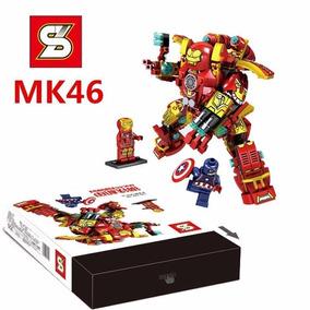 Lego Armadura Hulk Buster Boneco Homem De Ferro Mk46- Show!