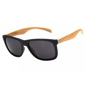 Óculos De Sol Hb Ozzie 90140 731 Preto   Madeira - Original a123b0e884