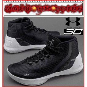 Tenis Basketball Under Armour Curry 3 Botas Baloncesto Nba