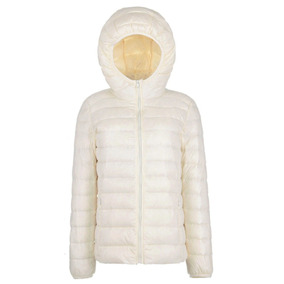 Campera Mujer Uniqlo Ultra Light Weight Originales Capucha