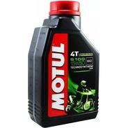 Aceite Motul 5100 4t 15w50 Semisintetico Mejor $$$ Fas Motos