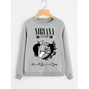 Buzo Heart - Shaped Box - Nirvana!! Talles!