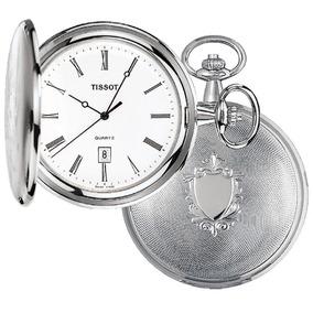 Reloj Tissot De Bolsillo Savonnette T83650813 Con Leontina