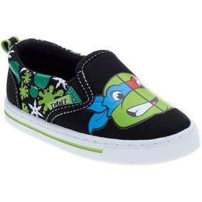 Zapato Casual De Tortugas Ninja Para Niños Varias Tallas