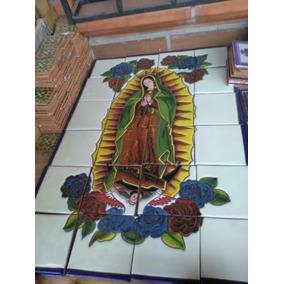Mural De Talavera Artesanal - Virgen