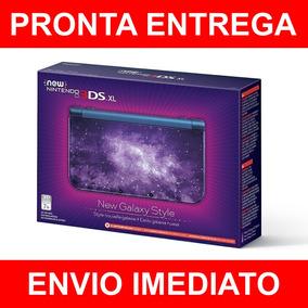 New Nintendo 3ds Xl New Style Galaxy Pronto Entrega Envio Hj
