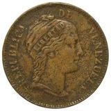 Moneda De Venezuela Centavo Monaguero De 1862 - Libertad