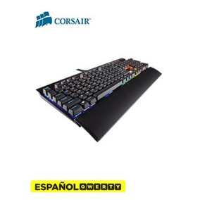 Teclado Gamer Corsair K70 Lux Rgb, Mecánico, Español, Usb, C