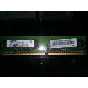 Memoria Ram Ddr2 1gb Pc5300u Elpida 667mhz