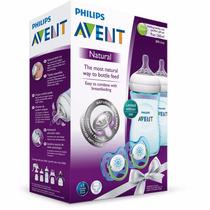 Philips Avent Set De Regalo 2 Biberonres 9 Onzas 2 Chupones