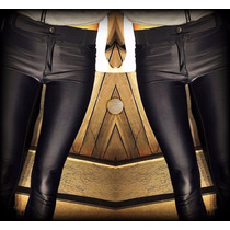 Calza Pantalon Lycra (pant Simil Long Leg)/leggins/negra
