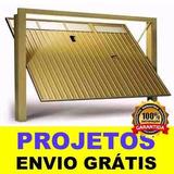 Projeto Portão Basculante + 1800 Modelos De Portões!