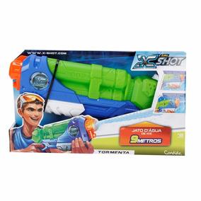 Lançador De Água Arminha De Água X-shot Tormenta Candide
