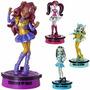 Set 4 Figuras Apptivity Monster High