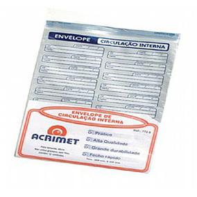 Envelope Vai-vem De/para A4 Branco Polipropileno 757/771 - C