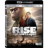 4k Blu-ray : Rise Of The Planet Of The Apes (with Blu-ra...