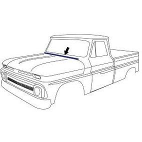 Ford Pickup F100 F150 F350 Bronco Empaque Cofre 1961 A 1966