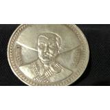 Moneda De Plata Pura Ley .999 2 Onzas Troy De Emiliano Zapat