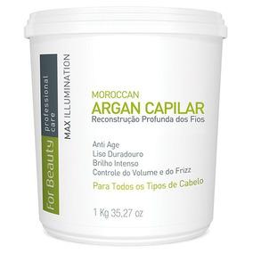 Btox Capilar Argan For Beauty Max Illumination 1kg S/ Formol