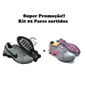 714db42b816 ... promo code for tenis nike shox junior kit dois pares feminino masculino  9ef57 5aac0