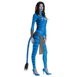 Secreto Deseos Avatar Neytiri Traje Azul, Medium (6/10)