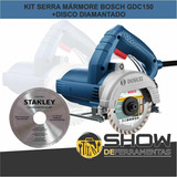 Serra Marmore Bosch Titan Gdc150 + Disco De Corte