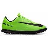 Tenis Futbol Nike Mercurial Vortex Verde Niños Original
