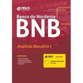 Apostila Bnb Banco Do Nordeste - Analista Bancário + Brindes