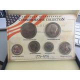 Set Usa Aniversario 1776-1976 7 Monedas