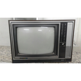 Televisor Antigo Mitsubischi Não Funciona Decoração Zn Horto