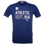 Camiseta Puma Style Athl Tee Azul