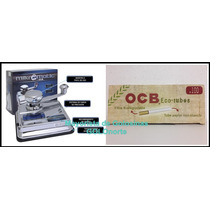 Ocb Mikromatic Maquina Rellenadora + 200 Tubos Organicos