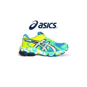 Tênis Asics Gel Sendai Azul Royal E Verde - Tênis para Feminino Azul ... 10ed2602d2e57