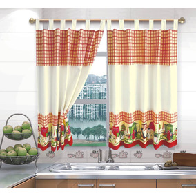 cortinas para cocina fotos