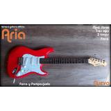 Vendo Espectacular Guitarra Eléctrica Aria Tipo Strat