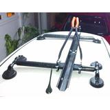 Kit Suporte 6 Ventosas + Calha Transporte De Bicicletas
