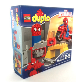 Taller De La Moto Araña Spider-man Lego Duplo Marvel 10607