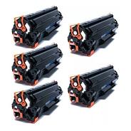 5 Unidade Toner Compatível Cf283a | 83a | M125 | M127 | M201