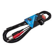 Cable Proel Plug 3.5 Stereo A 2 Plug 6.5 Mono 3 Metros
