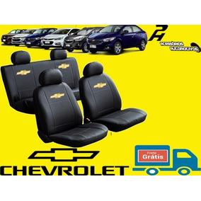 Capa De Banco Couro Cruze Hb Sport Com Logo Da Chevrolet