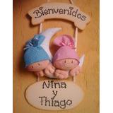Cartel Bienvenida Nacimiento Recuerdos Mellis Bebes Baby