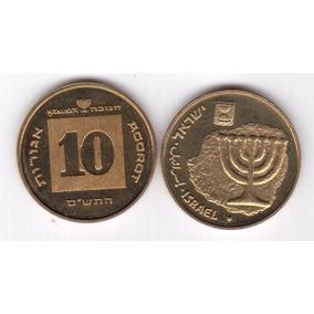 Moeda De Israel - 10 Agorot Fc Nova