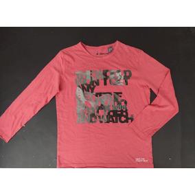 Camiseta Manga Larga, Zara Kids Talla: 9-10