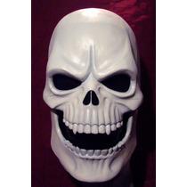 Calavera Mascara Latex Halloween Terror Cráneo