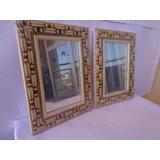 Espelhos(2 Pçs)decorativos P/ Parede - Moldura Alto Relevo 1