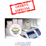 Etiqueta Térmica De Balança 60x40 Filizola E Toledo