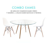 Combo Eames Dsw - 4 Sillas + 1 Mesa