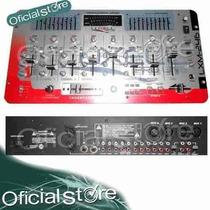 Consola Mixer Con Ecualizador Dj 6 Canales Luxellpro Lxm246