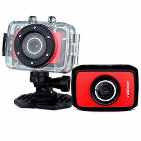Camera Digital Sport Cam Bright Full Hd Vermelha Cod 0384